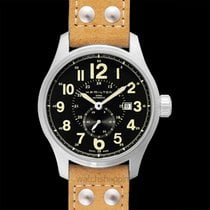 Hamilton Khaki Field Officer Steel 44mm Black
