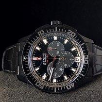 Zenith El Primero Stratos Flyback Aligator Leather 45mm Watch