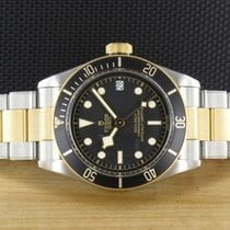 Tudor Black Bay S&G LC100 79733N from 2018, Box, Papers