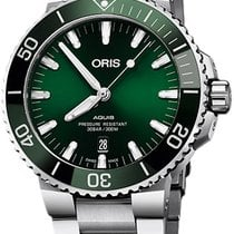 Oris Aquis Date Steel 43,5mm Green