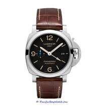 Panerai Luminor 1950 3 Days GMT Automatic Steel 44mm Black Arabic numerals United States of America, California, Newport Beach