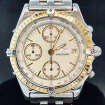Breitling Chronomat Guld/Stål Champagnefarvet Ingen tal