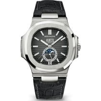 Patek Philippe Steel Automatic Black No numerals 40.5mm new Nautilus