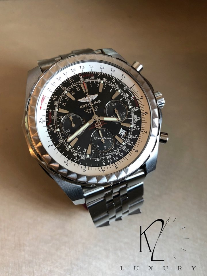 Breitling For Bentley >> Breitling Bentley Motors Chronograph In Steel