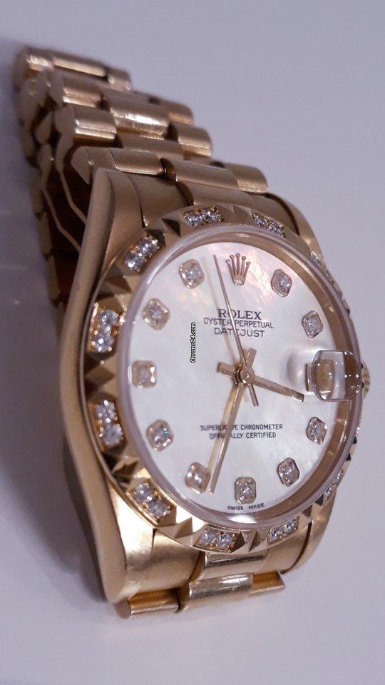 Rolex Watch Datejust Lady 68258