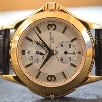 Patek Philippe Travel Time Oro giallo 37mm Bianco Arabo Italia, padova