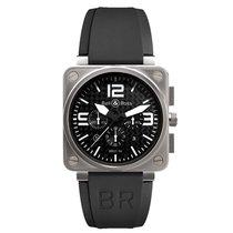 伯莱士 計時碼錶 46mm 自動發條 2013 二手 BR 01-94 Chronographe 黑色
