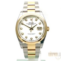 Rolex Datejust Gold/Steel 36mm Mother of pearl No numerals