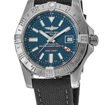Breitling Avenger II GMT Steel No numerals United States of America, New York, Brooklyn