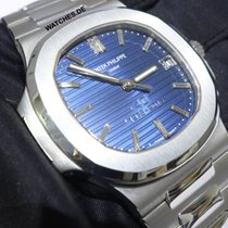 Patek Philippe Platinum Automatic Blue 40mm new Nautilus