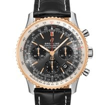 Breitling Navitimer 1 B01 Chronograph 43 Gold/Steel 43mm Grey