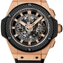 Hublot King Power Rose gold 48mm Transparent No numerals United States of America, New Jersey, Princeton