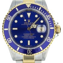Rolex Submariner Date Gold/Steel 40mm Blue United States of America, Illinois, BUFFALO GROVE