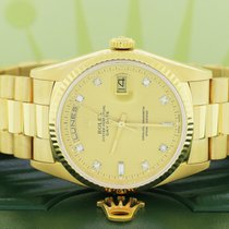 Rolex Day-Date 36 Жёлтое золото 36mm Цвета шампань