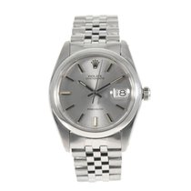 Rolex Oyster Precision Staal 35mm Grijs