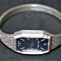 Breitling Silber Handaufzug Blau Keine Ziffern 29mm gebraucht