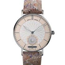 Zeppelin Reloj de dama 36mm Cuarzo nuevo Reloj con estuche y documentos originales 2019