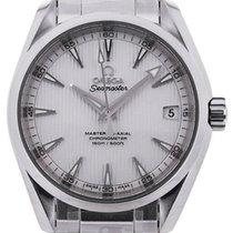 Omega Seamaster Aqua Terra Steel 39mm Silver