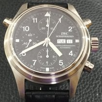 IWC Pilot Double Chronograph Steel 42mm Black