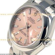 Rolex Lady-Datejust nuevo 2019 Automático Reloj con estuche y documentos originales 178240 - Rolex Date just 31mm PINK Index NEW Oyster Steel