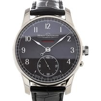 Moritz Grossmann Benu 41mm Power Reserve Grey Dial