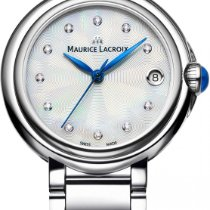 Maurice Lacroix Fiaba Round FA1004-SS002-170 Damenarmbanduhr...