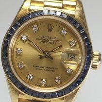 Rolex DATE JUST Ladies baguette cut original 69118G