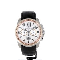 Cartier Calibre de Cartier Chronograph W7100043 2017 новые