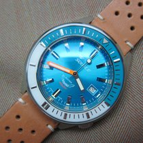 Squale SqualeMatic 600m Polished Case Blue Dial