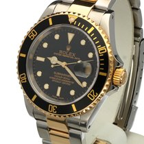 Rolex Oyster Submariner Gold Steel Black Dial 40 mm (2001)