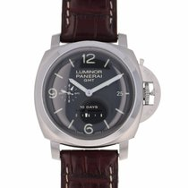Panerai Luminor 1950 10 Days Gmt Stainless Steel Pam 270 -...