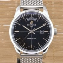 Breitling Transocean Day & Date A4531012 - Boxed with Papers...