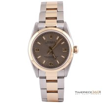Rolex Oyster Perpetual No-Date 31mm Steel & Yellow Gold