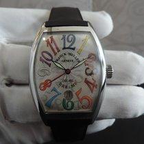 Franck Muller Color Dreams Steel 36mm Silver Arabic numerals