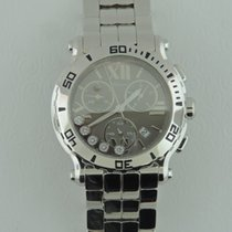 Chopard Happy Sport pre-owned 42mm Chronograph Date Steel