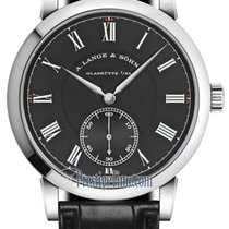 A. Lange & Söhne Richard Lange White gold 40.5mm Black United States of America, New York, Airmont