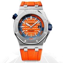 Audemars Piguet Royal Oak Offshore Diver Steel 42mm Orange No numerals