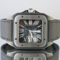 Cartier Santos 100 with Box and Papers