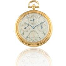 Audemars Piguet Yellow Gold Perpetual Calendar Pocket Watch