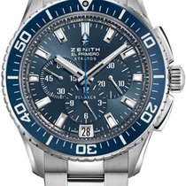 Zenith El Primero Stratos Flyback Steel 45.5mm Blue United States of America, New York, Airmont