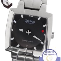 Zodiac 45mm Automatic pre-owned Astrographic Black