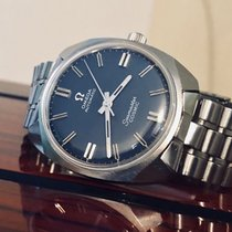 Omega Seamaster Auto Cosmic Cal 552 blue dial vintage mens watch