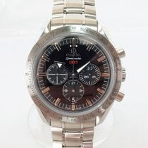 Omega Speedmaster Broad Arrow Zeljezo 42mm Crn Bez brojeva