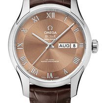 Omega De Ville Hour Vision 433.13.41.22.10.001 new