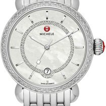 Michele Steel 36mm Quartz MWW03T000035 new