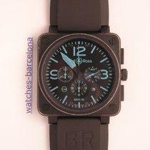 Bell & Ross BR 01-94 Chronographe usados 46mm Acero