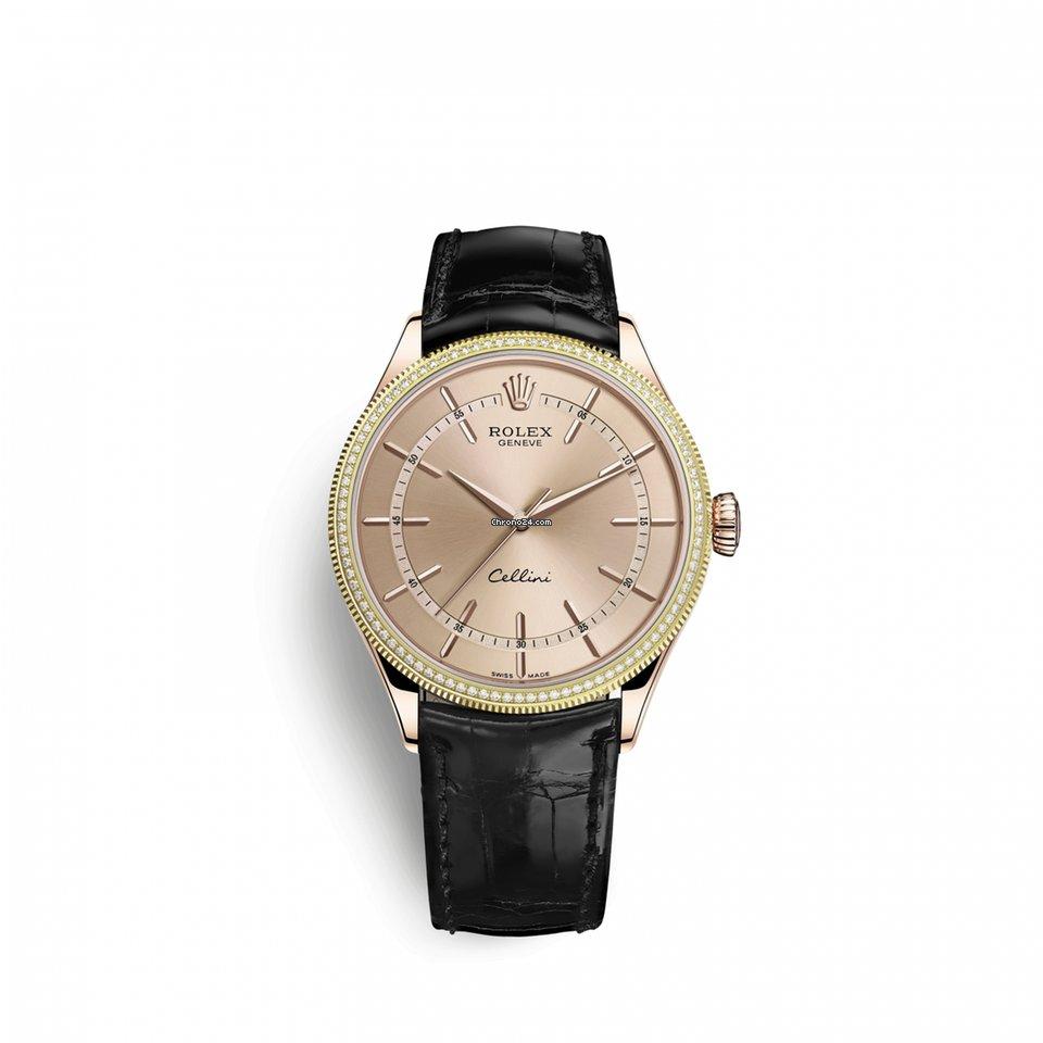 Rolex Cellini Time 50605RBR0011 новые