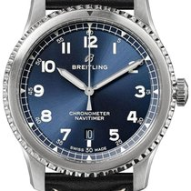 Breitling Navitimer 8 Steel 41mm Blue Arabic numerals United States of America, Florida, Boca Raton