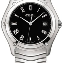 Ebel Classic Steel 40mm Black Roman numerals United States of America, New York, New York