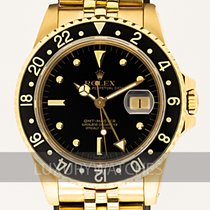 Rolex GMT-Master Yellow gold 40mm Black
